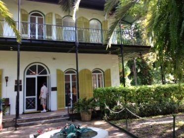 Hemingway House exterior. Photo by Nancy S Bishop.