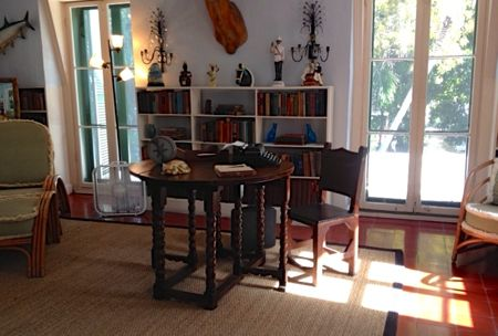 Hemingway's office. Photo by Nancy S Bishop.