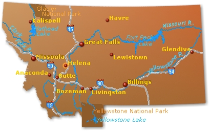 Meandering Montana: Mountains, maps, robots and trains…and bluegrass ...